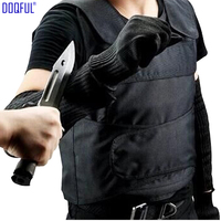 Stab Proof Vest Anti Cut Work Gloves Stabproof Arm Sleeve Outdoor Safety Self Defense Tungsten Steel Iiner Plate Tactical