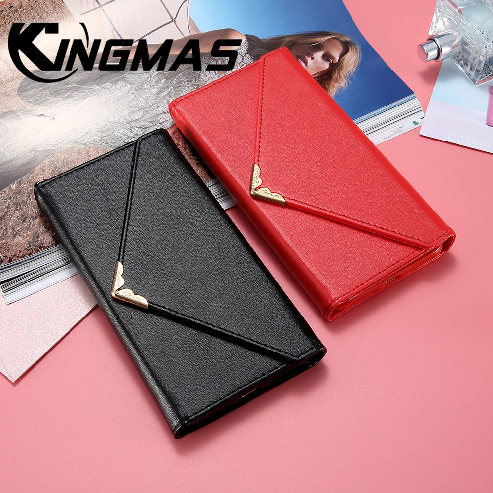 Handbag wallet leather phone case for iphone 6 6s 7 8 plus luxury flip cover iPhone X XS XR MAX Envelope