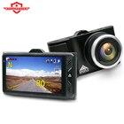 KOMMANDER concealed hd night vision car DVR 1296P car camera GPS dash camera 2 and 1 A7LA50 high speed DVR radar detector