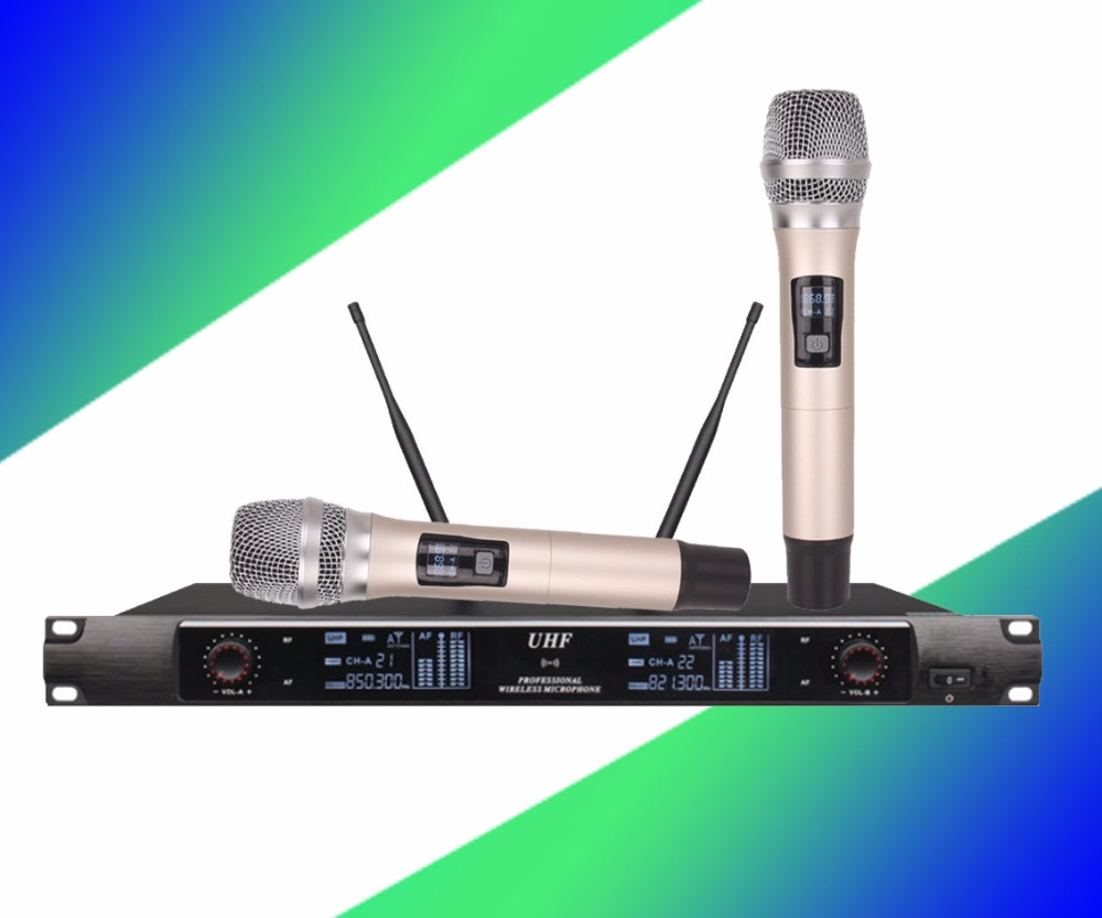 Professional wireless microphone a towel meeting home KTV stage wedding performance microphone ugx88 professional one to four wireless microphone professional stage performance meeting the sound box condenser microphone