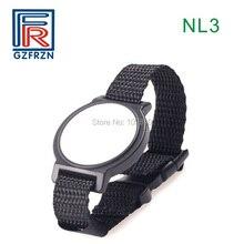 1 шт. LF rfid нейлоновый тканый браслет 125 кГц TK4100(EM4100) браслет для контроля доступа