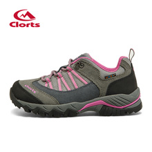 2016 Clorts Women Trekking Shoes EVA Anti-slipping Outdoor Hiking Shoes Breathable Camping Sport Shoes HKL-831