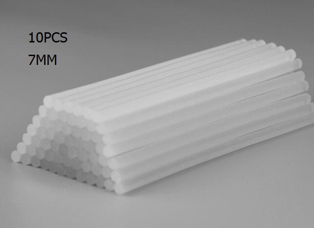 10PCS/LOT Hot Melt Adhesive Rods Of Plastic Rods 7MM/10MM For Glue Gun