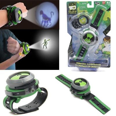 цена Ben10 Ten Alien Force Projector Watch Omnitrix Illumintator Bracelet Toy Gift UK