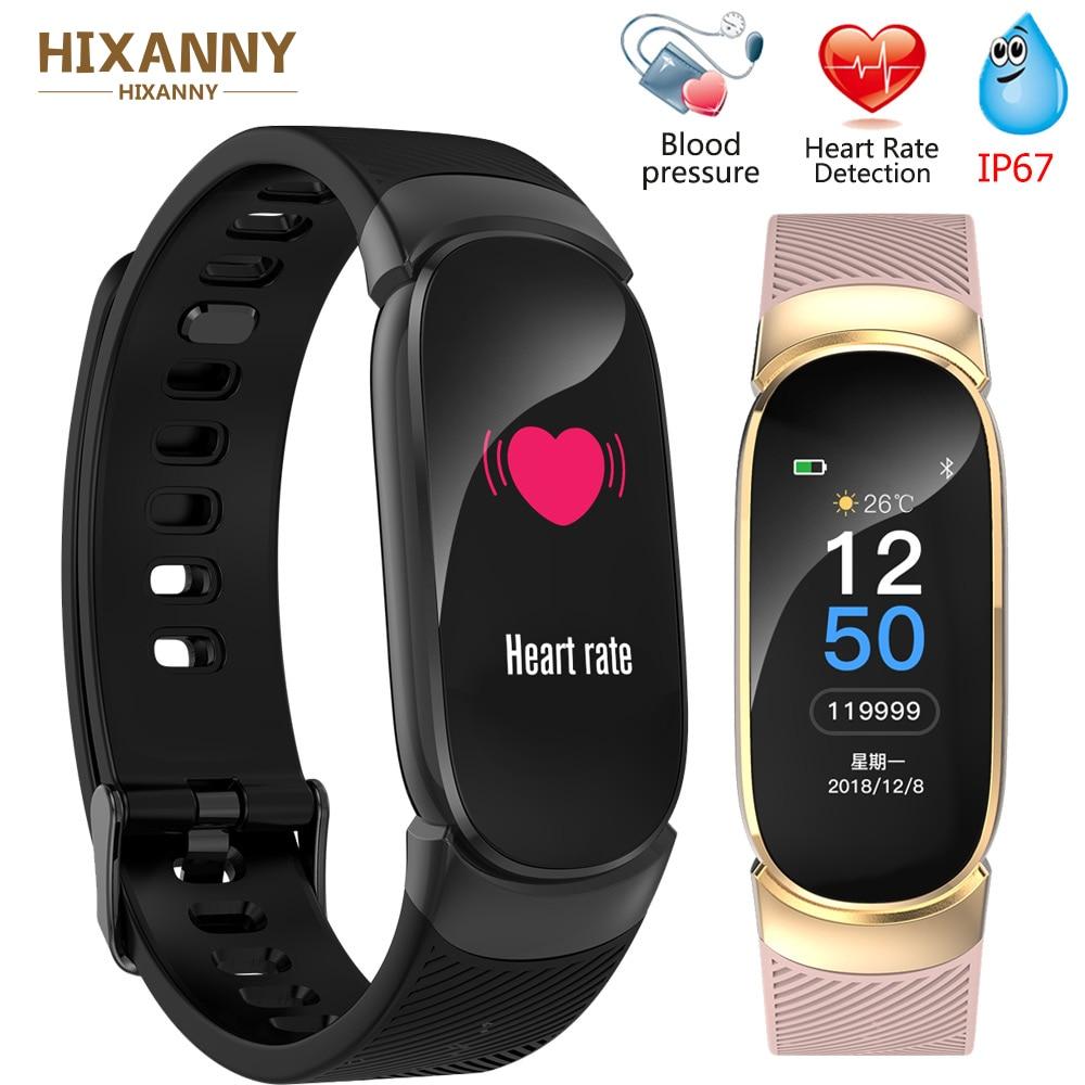 2019 New Sport Smart Bracelet Men Smart Watch Women Fitness Tracker Smart Wristband Heart Rate Blood Pressure Monitor Smartwatch