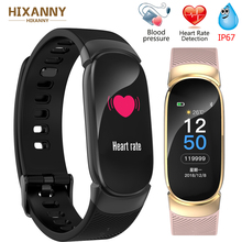 2019 New Sport Smart Bracelet Men Smart Watch Women Fitness Tracker Smart Wristband Heart Rate Blood Pressure Monitor Smartwatch