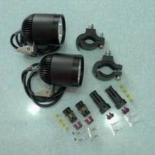 LDDCZENGHUITEC пара 4* U2 светодиодный чип Светодиодный точечный светильник 40 Вт 4400 люмен Водонепроницаемый светодиодный светильник для мотоцикла