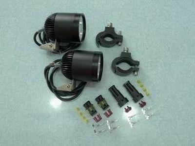 Un par 4 * U2 Cree Viruta LLEVADA llevó el proyector 40 W 4400 lúmenes impermeable de la luz led de la motocicleta led faro