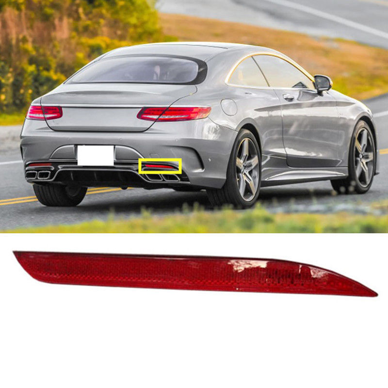 For Benz S320 S350 S300 S500 S400 S63 2014-2016 Right Rear Fog Lamp CoverFor Benz S320 S350 S300 S500 S400 S63 2014-2016 Right Rear Fog Lamp Cover