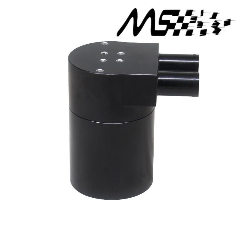 High Performance Black Aluminum Alloy Reservior Oil Catch Can Tank for BMW N54 335
