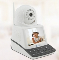 3.5 Screen Monitor P2P Wifi Skype IP Cam Wireless 32G Video Record Wifi Skypecam Camera