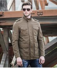 men jacket  spring jacket men  Spring new men's jacket tough military windbreaker pocket jacket free shipping