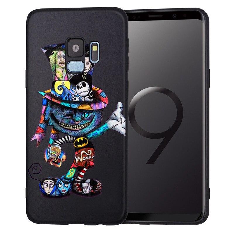 Groot Joker Stitch marvel для samsung Galaxy S6 S7 Edge S8 S9 S10 Plus Lite Note 8 9 чехол для телефона Coque Etui Funda deadpool - Цвет: H1412