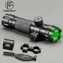 купить Tactical Laser Pointer Mount Green Red Dot Laser Sight Rifle Hunting Scope 20mm Airsoftsport Rail Barrel Pressure Switch Mount по цене 1087.62 рублей