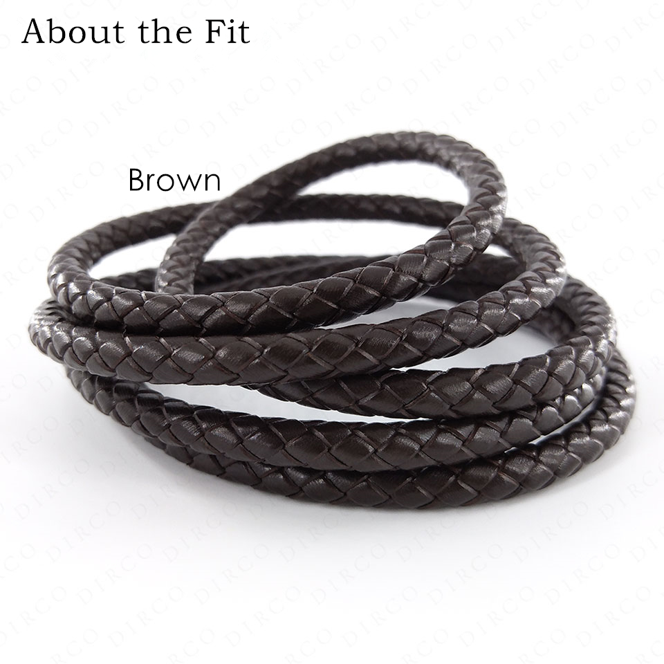 About the Fit 5mm 20Meters Full Dyeing Braided Split Leather Total Coloring Round Leather Cords Jewellery