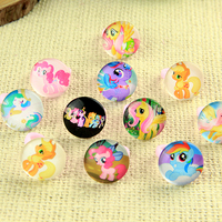 Free Shipping 100pcs Cute Mix Resin Cartoon Girls Cartoon little Ma Baoli Children Rings Wholesale Jewelry Lots