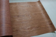 2Pieces   Width:62cm L:2.5Meters   Thickness:0.25mm Technology Wood Veneer Skin Classical Cherry Bark(back Nonwoven fabric)