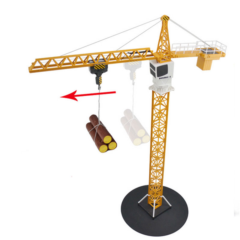 Remote Control Car Tower Crane Toy Alloy Crane Engineering Truck Engineering 360 Degree Rotate Crane Engineer Construction Toys цена