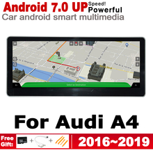 Car Android Radio GPS Multimedia Player For Audi A4 8W 2016~2019 MMI original style Navigation WiFi BT 4G 3G network car android radio gps multimedia player for audi a4 8w 2016 2019 mmi original style navigation wifi bt 4g 3g network