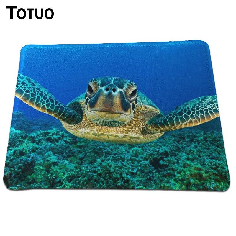 Üst moda kaplumbağa resimler Mouse Pad Masaüstü Pad Mousepads Optik Bilgisayar Fare Mat Fareler Pedleri Oyun Dikdörtgen Ped