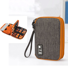 hot deal buy travel organizador portable digital accessories gadget devices organizer usb cable charger tote case storage cable organizer bag