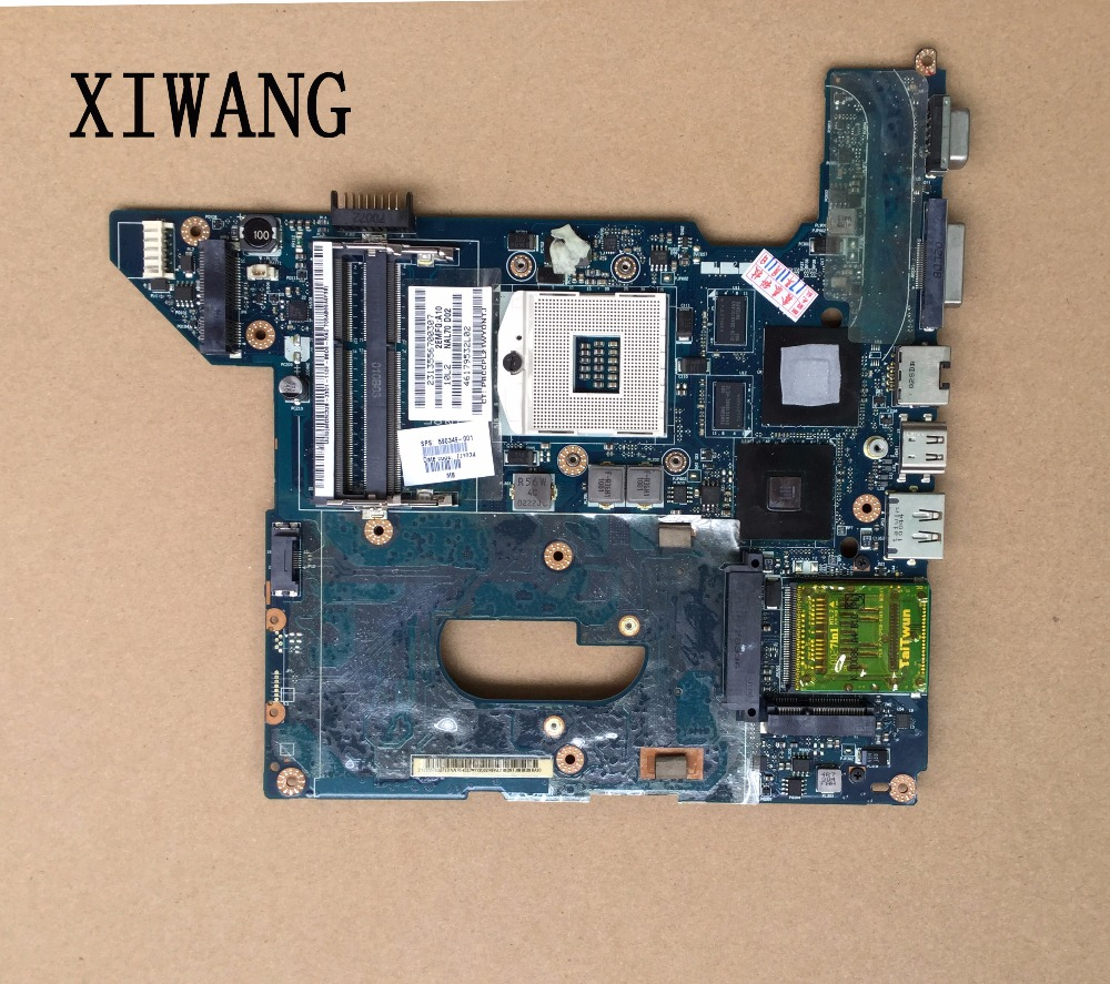 Free Shipping Original Mainboard for HP DV4 DV4-2000 HM55 Series 593119-001 Laptop Motherboard 100% Work Perfect for hp 6510b series laptop motherboard 446904 001 mainboard free shipping