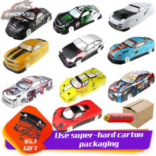 купить 37 species 1/10 RC Car 195/190mm PVC painted Body Shell with tail for 1:10 RC hobby racing drift car hsp yokomo hpi ZD TAMIYA дешево