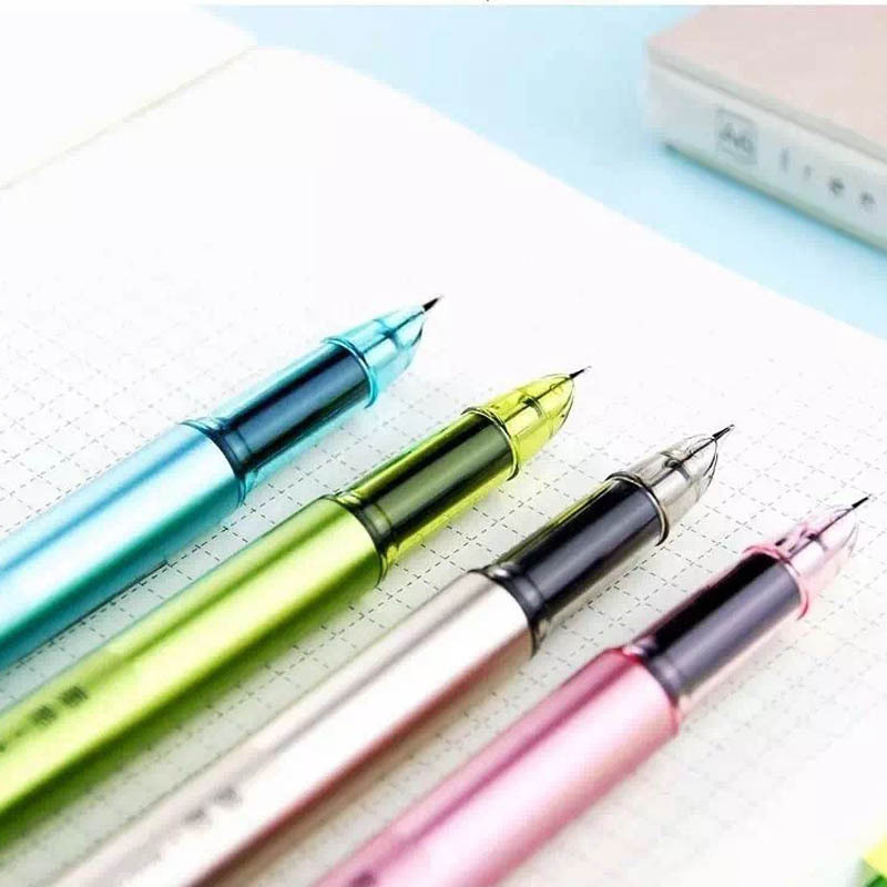 Cute Kawaii Candy Color Plastic Calligraphy Fountain Ink Pen For Writing Gift Korean Stationery 6pcs 12inch 72w offroad led work light bar combo beam 12v 24v for truck suv boat atv 4x4 4wd auto driving light