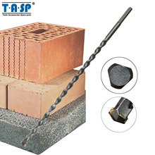 TASP 10 и 12 мм длинное сверло для каменной кладки вольфрамовые твердосплавные сверла для бетона аксессуары для электроинструмента