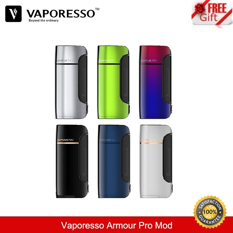 Vaporesso Armour Pro 100W TC Box Mod Vape fit Cascade Baby Tank Vaper Vaporizer E-Cigarette VS wismec 21700/20700/18650 Battery