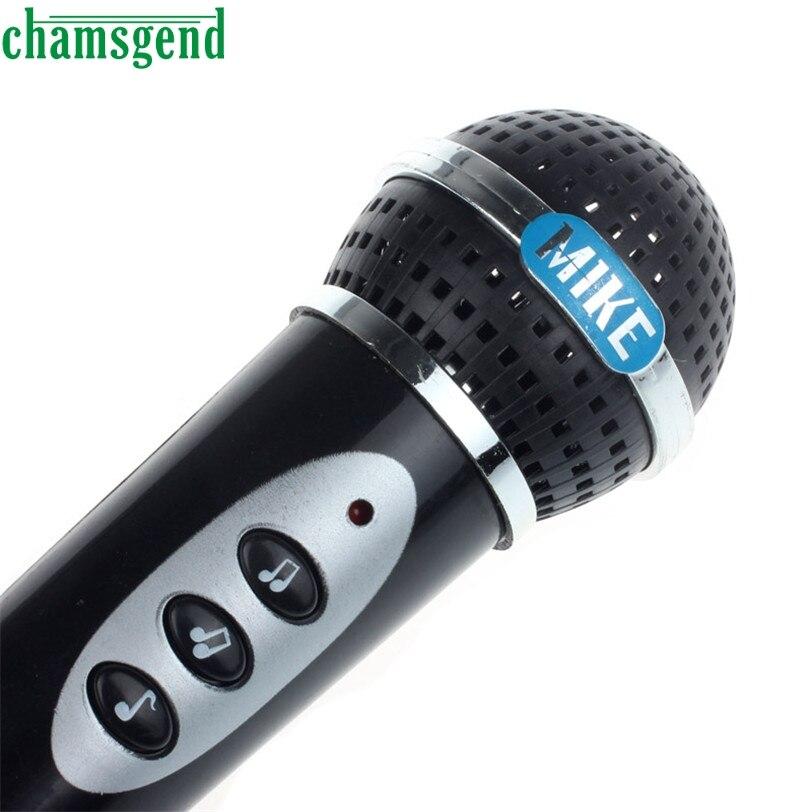 CHAMSGEND Best Seller Drop Ship Girls Boys Microphone Mic Karaoke Singing Kid Funny Gift Music Toy 2018 Oct11