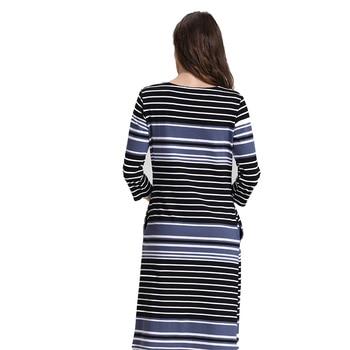 Emotion Moms Cotton Striped Summer Skirt for Pregnancy 2