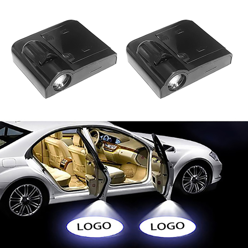 1PCS Wireless Led Car Door Welcome Laser Projector Logo Ghost Shadow Light For Volkswagen Ford Opel BMW Toyota Hyundai Kia Mazda