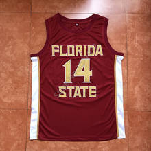 326cd5533caa 2018 New  14 Terance Mann Florida State College Throwback Basketball Jersey  Stitched