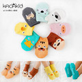 8 pairs / lot  0-4 years Cotton Newborn Baby Socks  Kacakid 2016 Floor Children's Socks for Newborns calcetines bebe Ankle Sock