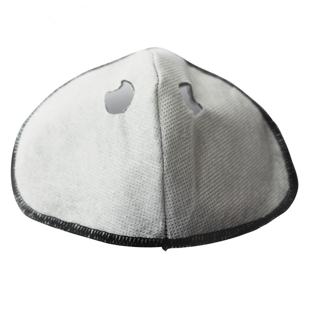 WOSAWE 3 unids/lote filtro de carbón activado intercambiable contra la contaminación para deportes al aire libre ciclismo motocicleta boca-mufla cara máscara