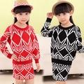 Baby girls knit children suit children's children clothes spring 2017 new C236 O