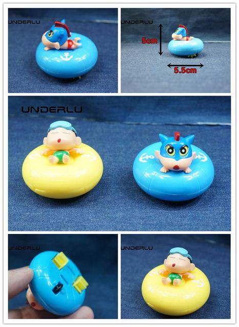 Us 6 56 5 Off 2types Swimming Crayon Shinchan Car Toy Cute Crayon Shin Chan Swim Ring Car Models Hot Cartoon Anime Brinquedos Kid Toys In Diecasts