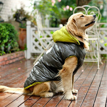 for Large Dog Winter Clothes Pet Big Apparel Coat High Quality Product  Down Jacket Cotton Padded 1pcs/lot