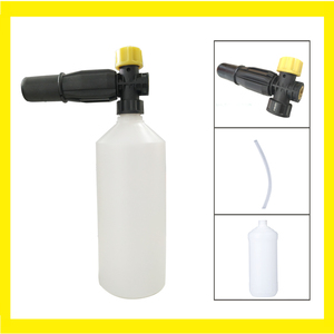 Image 5 - City wolf high pressure washer snow foam lance 1000 ML foam gun for all car washers G1/4 thread without adaptor