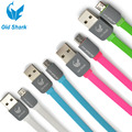 OLDSHARK цветной кабель USB type A - microUSB type B длиной 1м