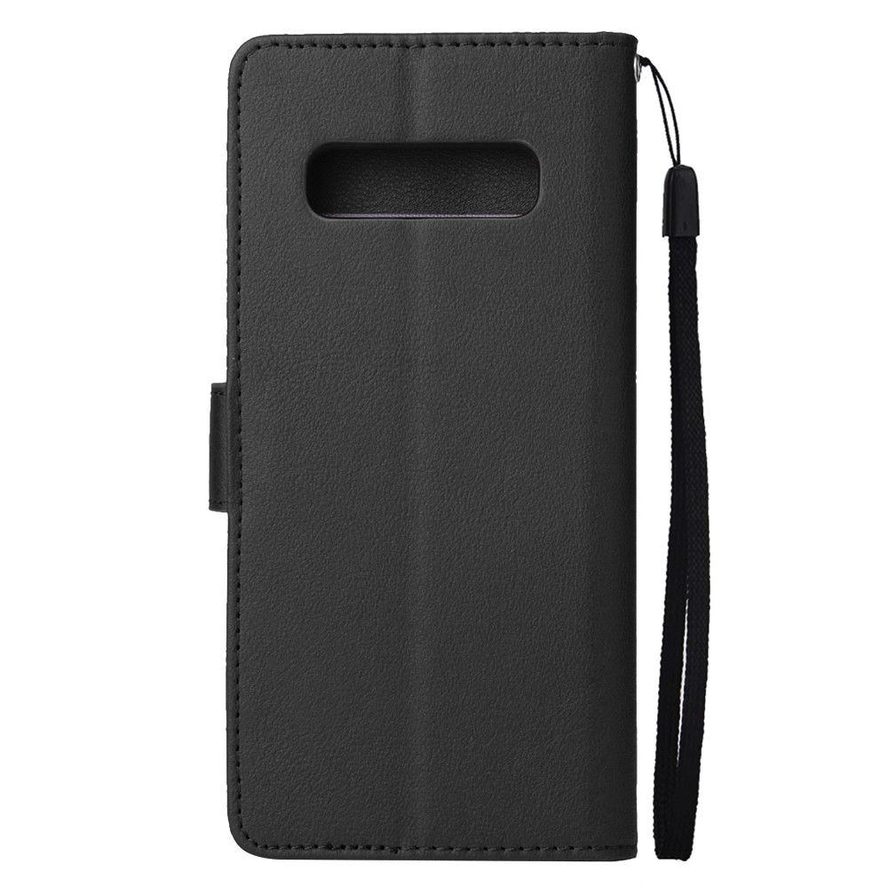 Flip Leather Wallet Card Stand Phone Cases For Samsung Galaxy S10 Cover Case Simple Anti-Fall And Scratch CoverP4