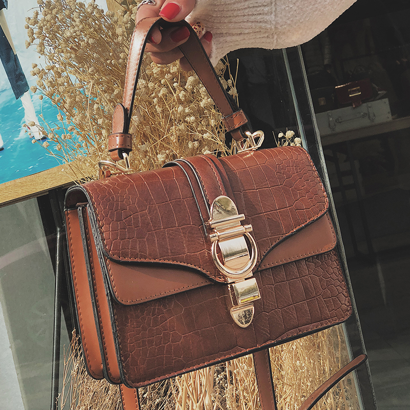 ee548080a390 Detail Feedback Questions about Bolsos Mujer Fashion Female Tote Bag 2018  Quality PU Leather Designer Women s Handbag Crocodile pattern Shoulder  Messenger ...