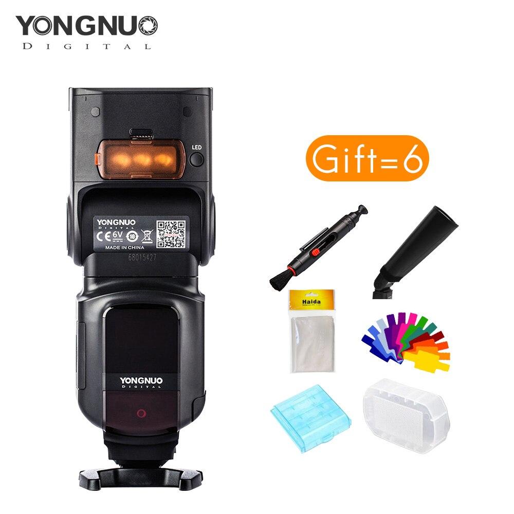 Yongnuo flash YN968N haute vitesse sync 1/8000 peut obstruer par 622N 560TX pour Nikon D810 D750 D610 D5600 appareils photo avec trois LED-in Clignote from Electronique    1