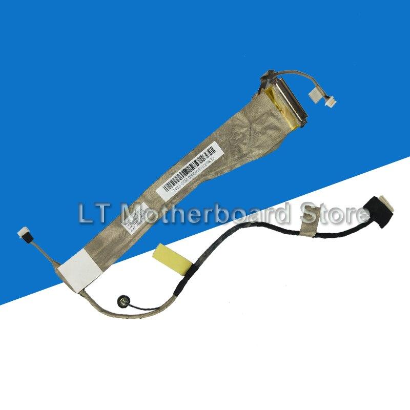 Original LCD Replacement Parts For ASUS K52 A52 X52 K52J A52J X52J K52F A52F X52F K52D K52DR K52N Laptop Screen Video Flex Cable original for asus laptop heatsink cooling fan cpu cooler k52 k52j k52jr a52j a52j x52j cpu heatsink