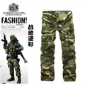 Group-buying!!!!  Hot Selling brand Men's Pocket army camouflage pants men cargo trousers camo military pants wholesale
