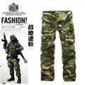 Grupo-comprar!!!! marca de Venda quente do Bolso Dos Homens calças de camuflagem do exército calças dos homens de carga camo calças militares atacado