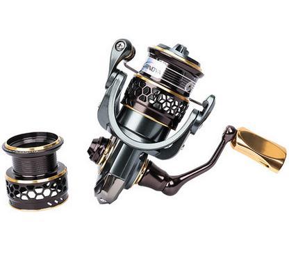 TSURINOYA Jaguar1000 Spinning Fishing Reel double spools 185g 5 2 1 free shipping