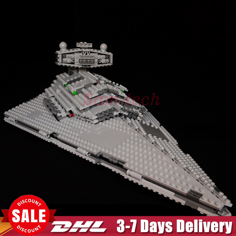 In Stock DHL Lepin 05062 Star 1391 Pcs Wars The Super Fighting Destroyer Set Educational Building Blocks Bricks Toy Gift 75055 05028 star wars execytor super star destroyer model building kit mini block brick toy gift compatible 75055 tos lepin