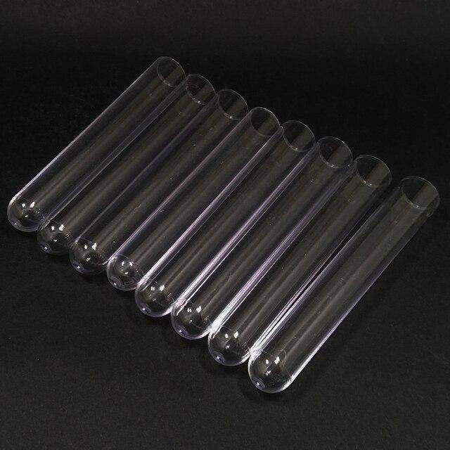 100 stücke Kunststoff Reagenzglas 15x150mm DIA15mm Klar, Hochzeit Gunsten Partei Bevorzugung Candy Jar